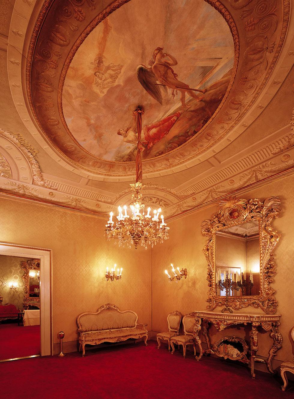 salotto monumentale, Palazzo Borghese, location per eventi a Firenze