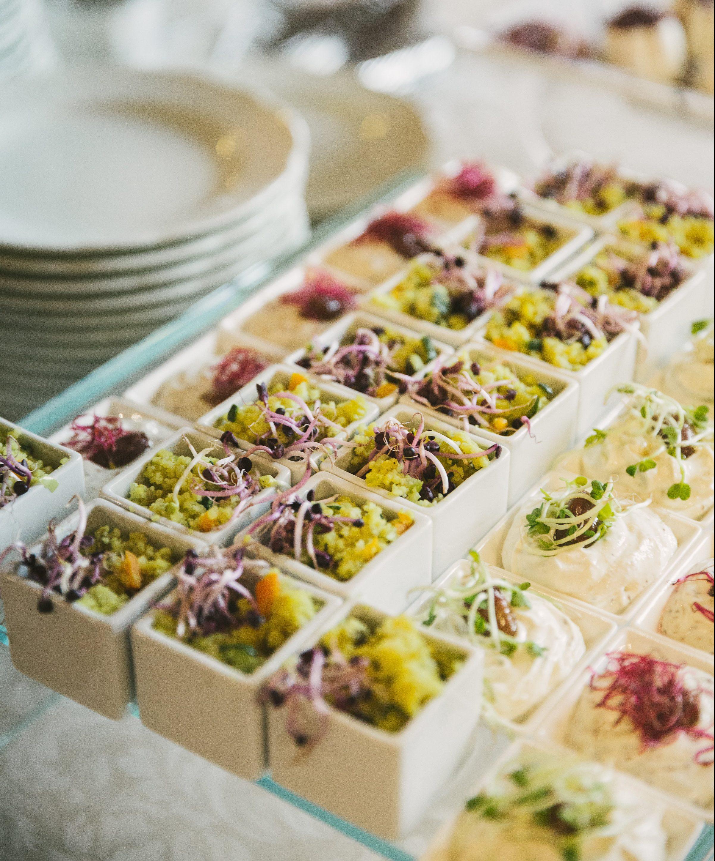 Antipasti aperitivi, finger food, couscous, pesce, palazzo Borghese location per eventi a Firenze