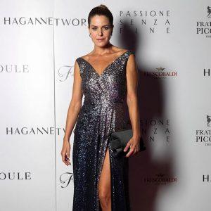 Elisabetta Pellini a Palazzo Borghese Firenze per la serata di gala Passione senza fine