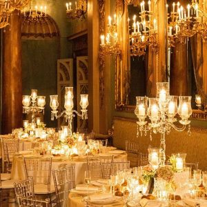 Luce soffusa a Palazzo Borghese Firenze, Galleria Monumentale one of the most romantic rooms for events in Florence