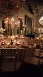 Luxury and atmosphere at Palazzo Borghese Firenze, romantic set-up with the most elegant italian style